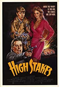 Dave Foley, Winston Rekert, and Roberta Weiss in High Stakes (1986)