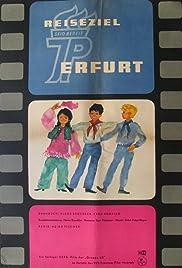 Reiseziel Erfurt Poster