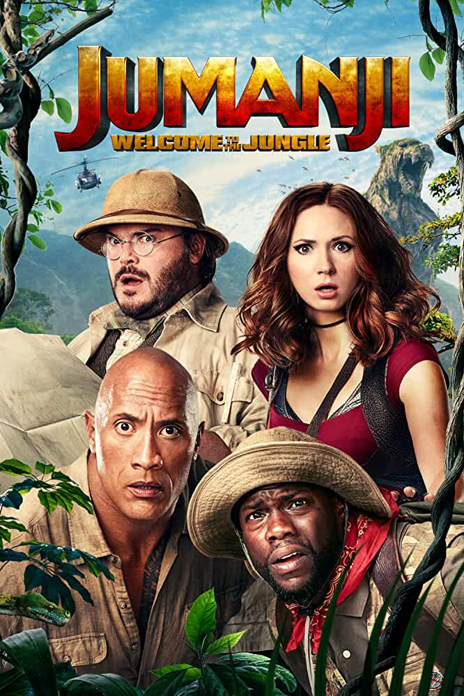 Jumanji: Welcome to the Jungle (2017) in Hindi
