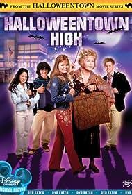 Debbie Reynolds, Kimberly J. Brown, and Lucas Grabeel in Halloweentown High (2004)