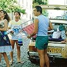 Andrea Beltrão, Lauro Corona, Débora Duarte, Antônio Fagundes, and Selton Mello in Corpo a Corpo (1984)