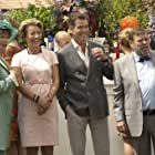 Pierce Brosnan, Emma Thompson, Timothy Spall, and Celia Imrie in The Love Punch (2013)