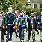 Theo Stevenson, Reuben Lee, Lloyd Howells, Jack Sanders, and Conor O'Mara in Horrid Henry: The Movie (2011)