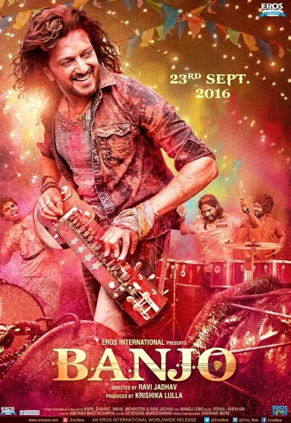 Banjo 2016 Hindi Movie 400MB HDRip Download