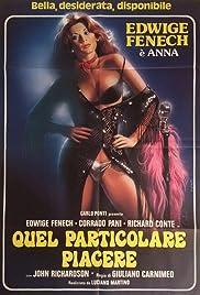 Anna, quel particolare piacere Poster