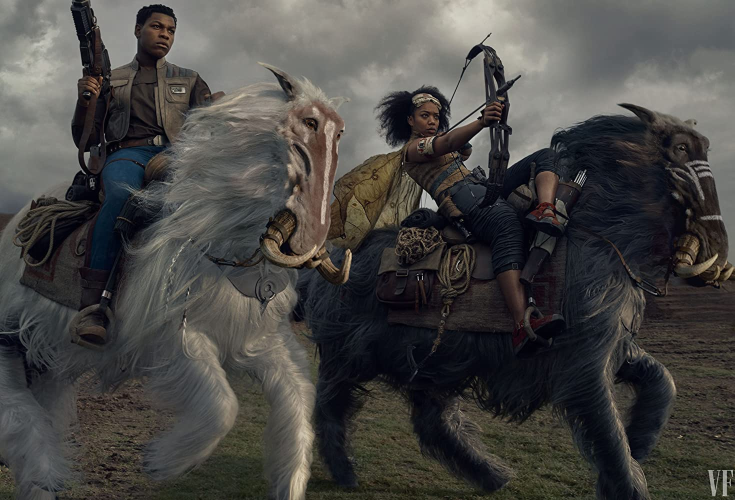John Boyega and Naomi Ackie in Star Wars: Episode IX - The Rise of Skywalker (2019)