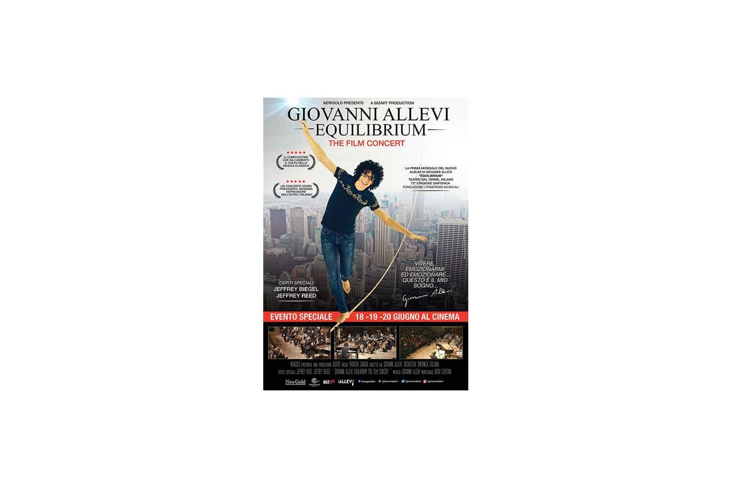 Giovanni Allevi - Equilibrium: the film concert (2018)