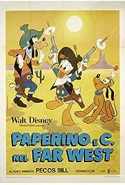 Donald Duck Goes West(1965) Poster - Movie Forum, Cast, Reviews