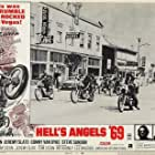 Sonny Barger, Steve Sandor, Jeremy Slate, Tom Stern, and Terry the Tramp in Hell's Angels '69 (1969)