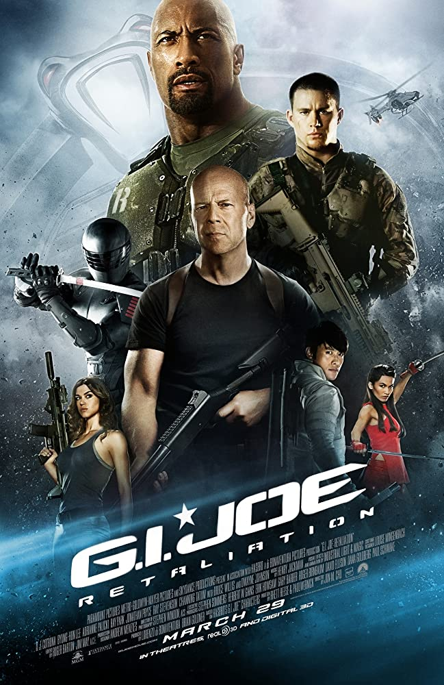 G.I. Joe: Retaliation 2013 Dual Audio Hindi 406MB BluRay ESubs Download