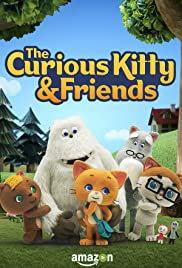 The Curious Kitty & Friends Poster