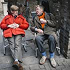 Alan Bennett and Alex Jennings in The Lady in the Van (2015)