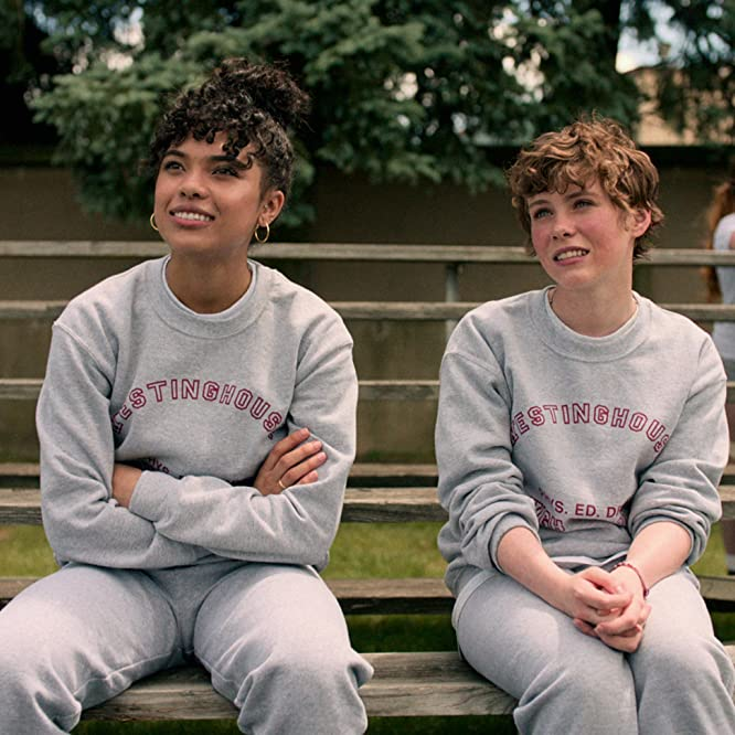 Sophia Lillis and Sofia Bryant in I Am Not Okay with This: Deepest, Darkest Secret (2020)