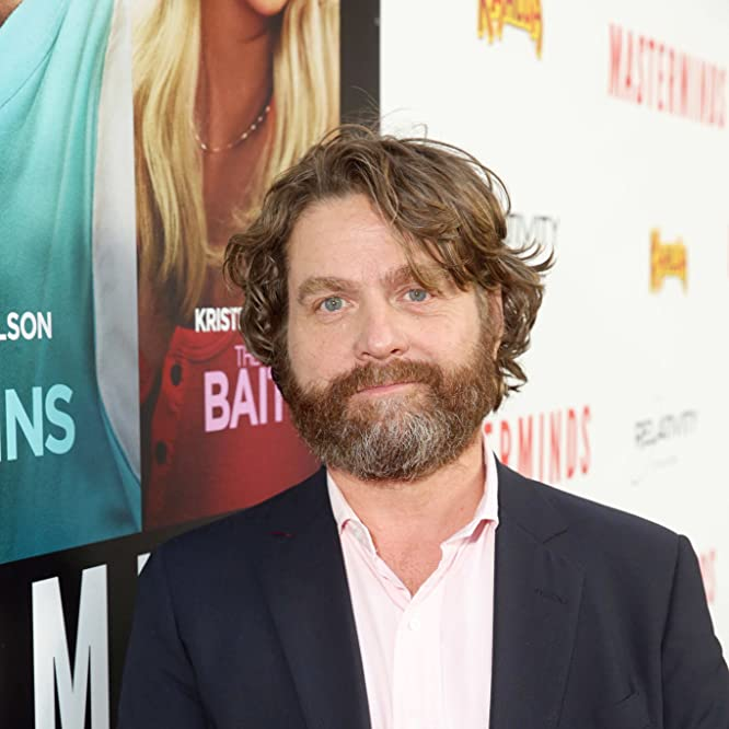 Zach Galifianakis at an event for Masterminds (2016)