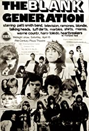 The Blank Generation Poster