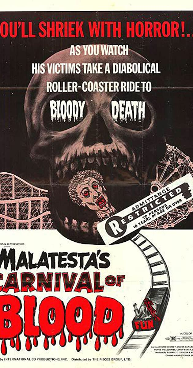 Subtitle of Malatesta's Carnival of Blood