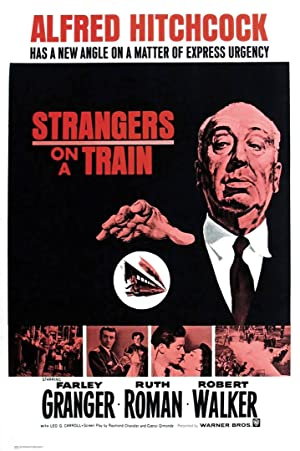 Strangers on a Train Poster Image