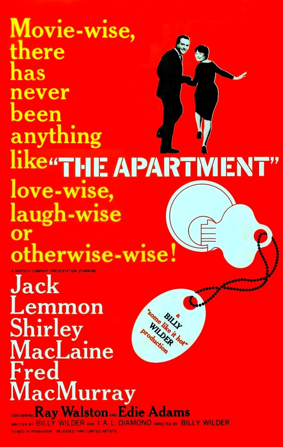 The Apartment (1960) BluRay 720p & 1080p