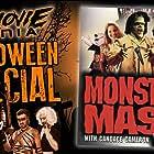 Candace Cameron Bure, Joel Cohen, John Kassir, Deron McBee, Bobby Pickett, E. Aron Price, and Alec Sokolow in Monster Mash: The Movie (1995)