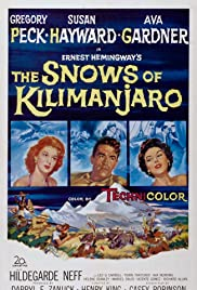 The Snows of Kilimanjaro Poster
