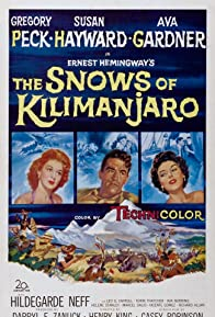 Primary photo for The Snows of Kilimanjaro