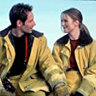 David Duchovny and Julianne Moore in Evolution (2001)