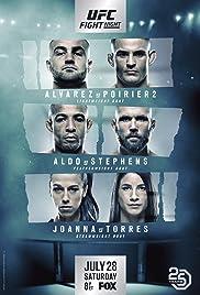 UFC on Fox: Alvarez vs. Poirier 2 Poster