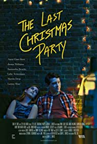 Gabe Armentano, Julian Carlo Santos, Lainey Woo, James Williams, Samantha Brooks, Anna Clare Kerr, and Martin Drop in The Last Christmas Party (2020)
