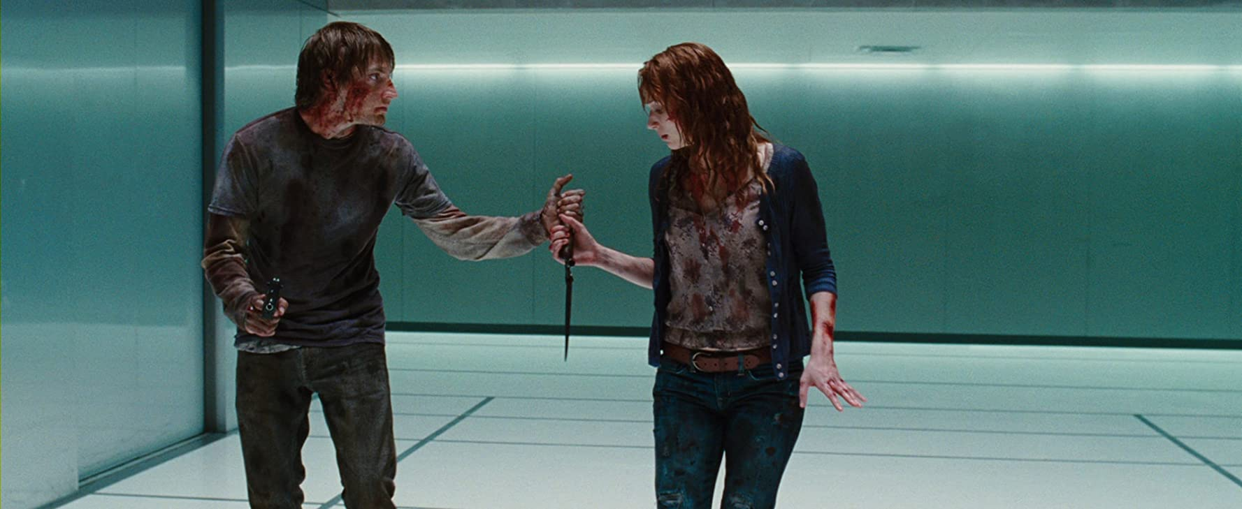 Fran Kranz and Kristen Connolly in The Cabin in the Woods (2011)