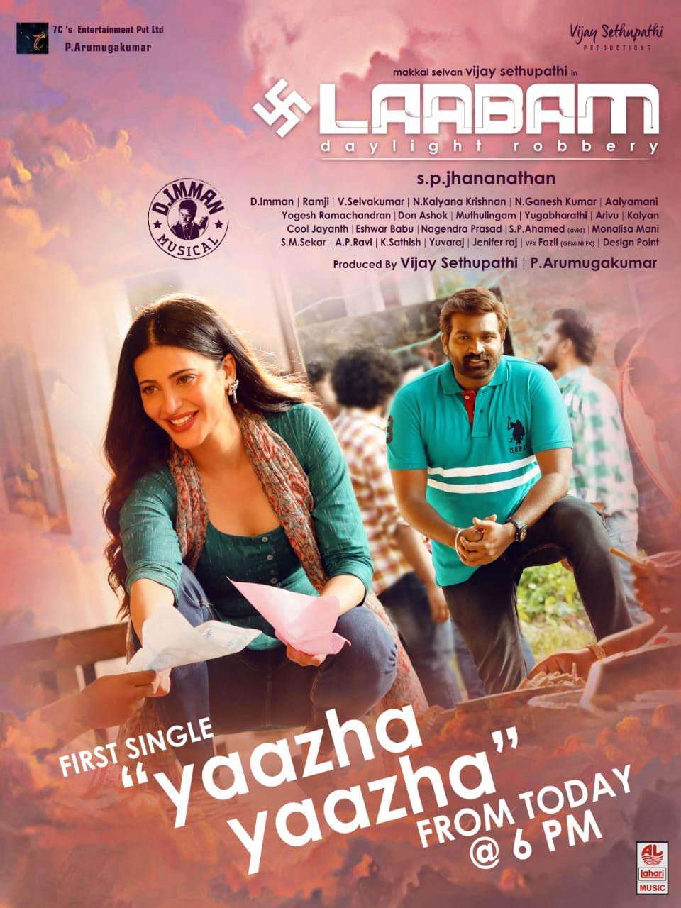 Laabam (2021) Tamil PreDVDRip 400MB Download