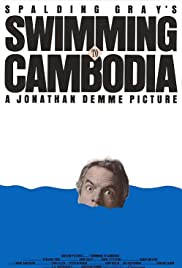 Swimming to Cambodia (1987) Poster - Movie Forum, Cast, Reviews