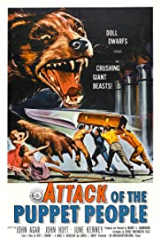 Attack of the Puppet People (1958) Poster - Movie Forum, Cast, Reviews