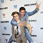 Zac Efron and Adam Devine at an event for Mike and Dave Need Wedding Dates (2016)