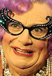 Dame Edna Live at the Palace Poster