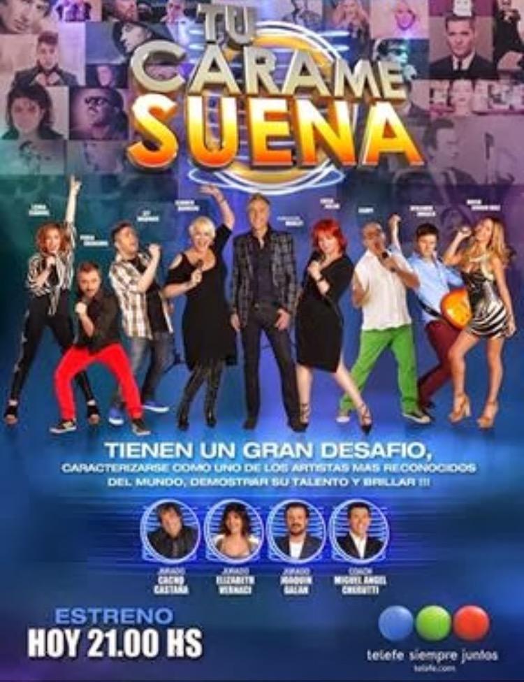 Tu Cara Me Suena Argentina Tv Series 2013 Imdb