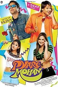 Fardeen Khan, Esha Deol, Vivek Oberoi, and Amrita Rao in Pyare Mohan (2006)