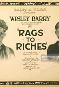 Wesley Barry in Rags to Riches (1922)
