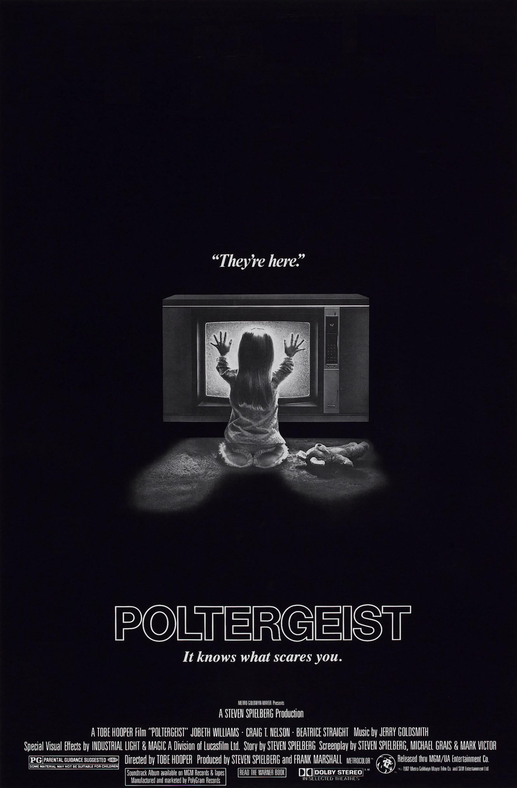 Image result for poltergeist 1982 poster