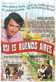 Así es Buenos Aires Poster