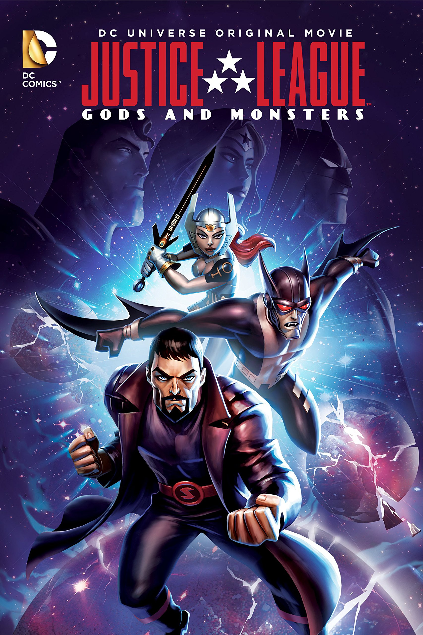Justice League: Gods and Monsters (2015) BluRay 720p & 1080p