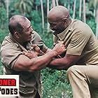 Harold Sakata and Woody Strode in Horror Safari (1982)