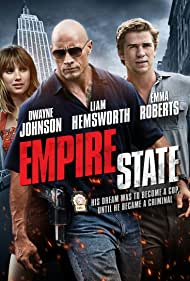 Dwayne Johnson, Emma Roberts, and Liam Hemsworth in Empire State (2013)