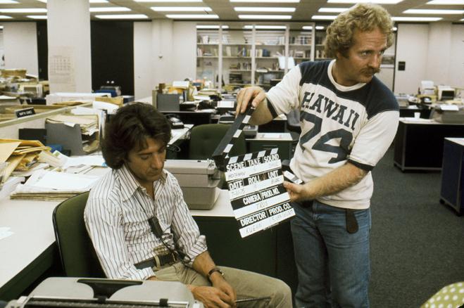 Dustin Hoffman in All the President's Men (1976)