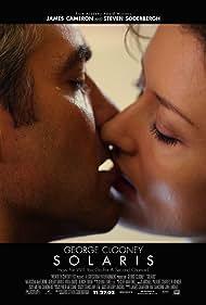 George Clooney and Natascha McElhone in Solaris (2002)