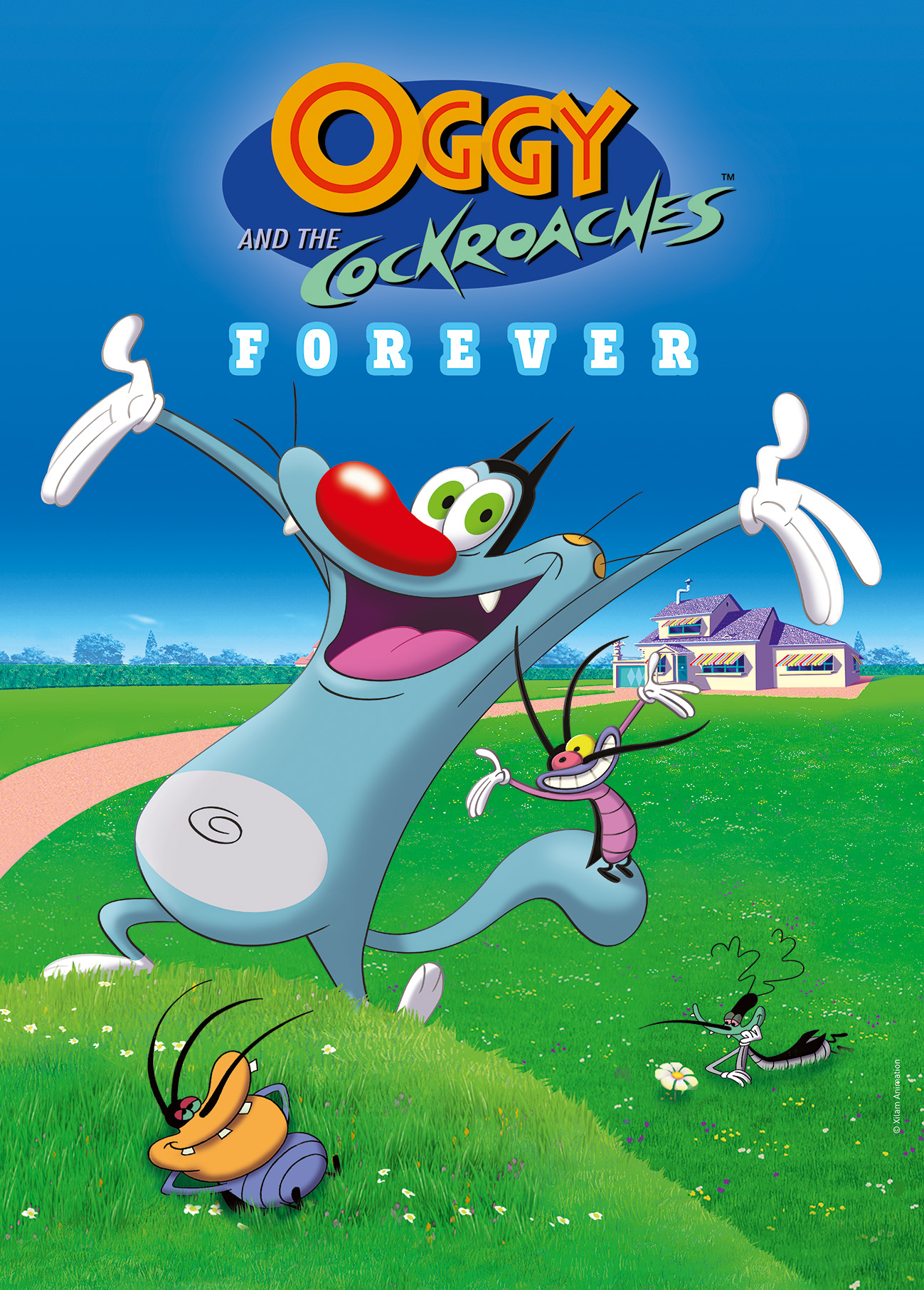 Oggy and the Cockroaches Season 1 COMPLETE DVDRip