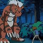 Brian Beacock and Steve Blum in Digimon: Digital Monsters (1999)