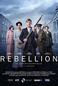 Barry Ward, Ruth Bradley, Brian Gleeson, Sarah Greene, and Charlie Murphy in Rebellion (2016)
