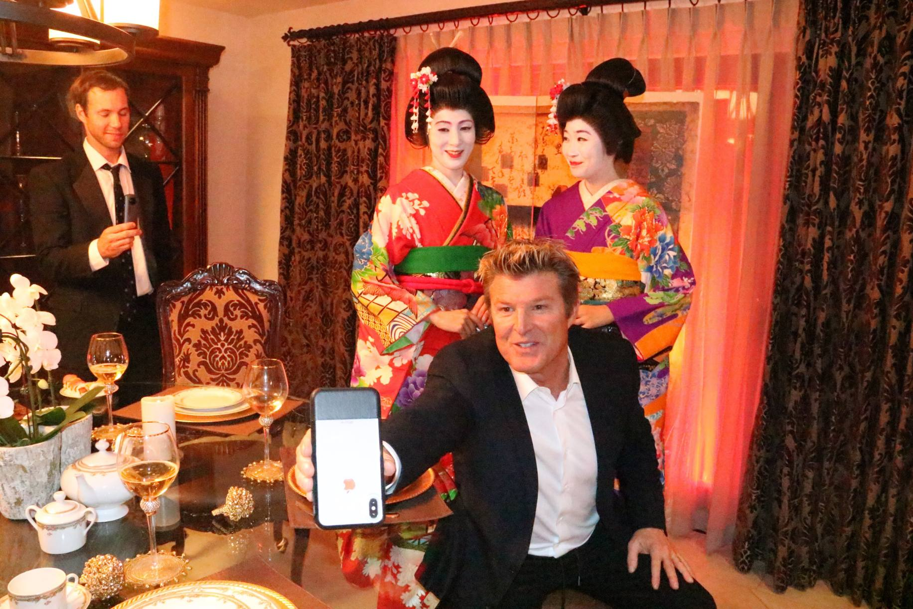 Winsor Harmon, Nico Santucci, Ruby Park, and Ikumi Yoshimatsu in Sarogeto (2021)