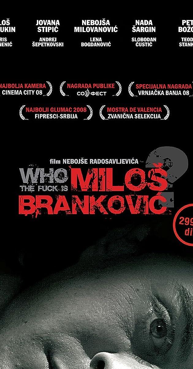 Fuck is milos brankovic