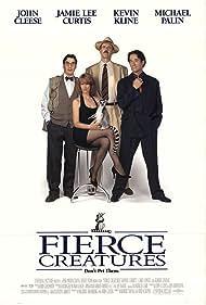 John Cleese, Jamie Lee Curtis, Kevin Kline, and Michael Palin in Fierce Creatures (1997)